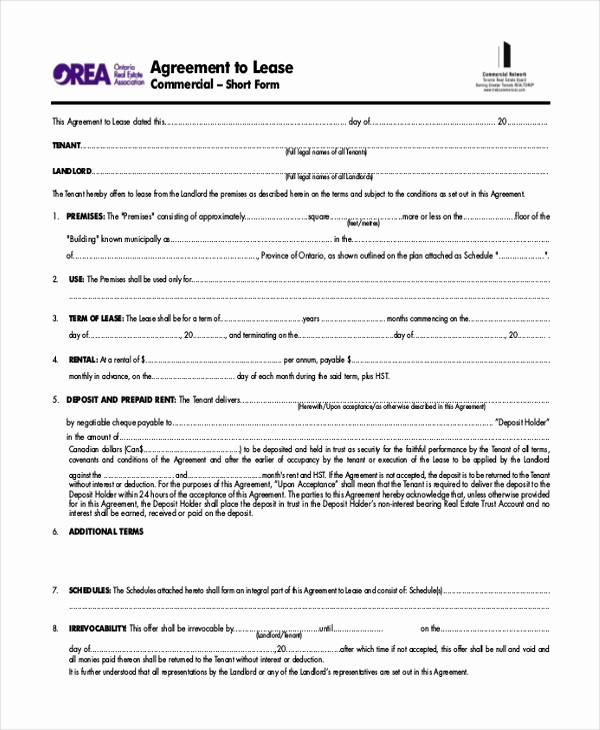 Option to Renew Lease form Luxury orea Lease Renewal form