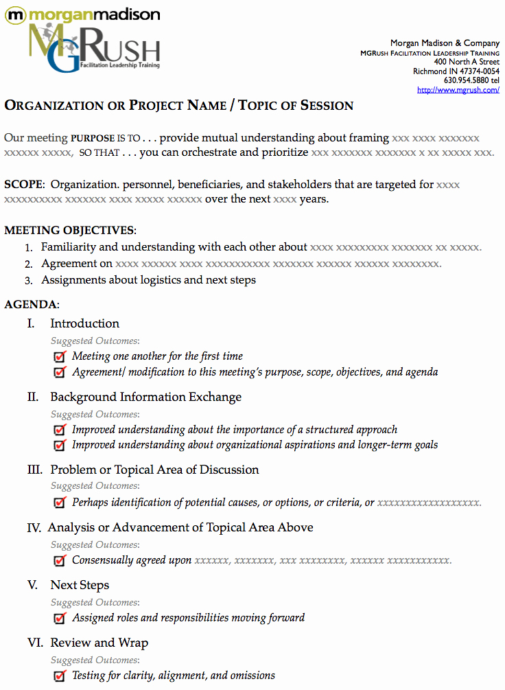 Order Of Business Meeting Agenda Fresh the Best E Page Agenda Template for A E Hour Meeting