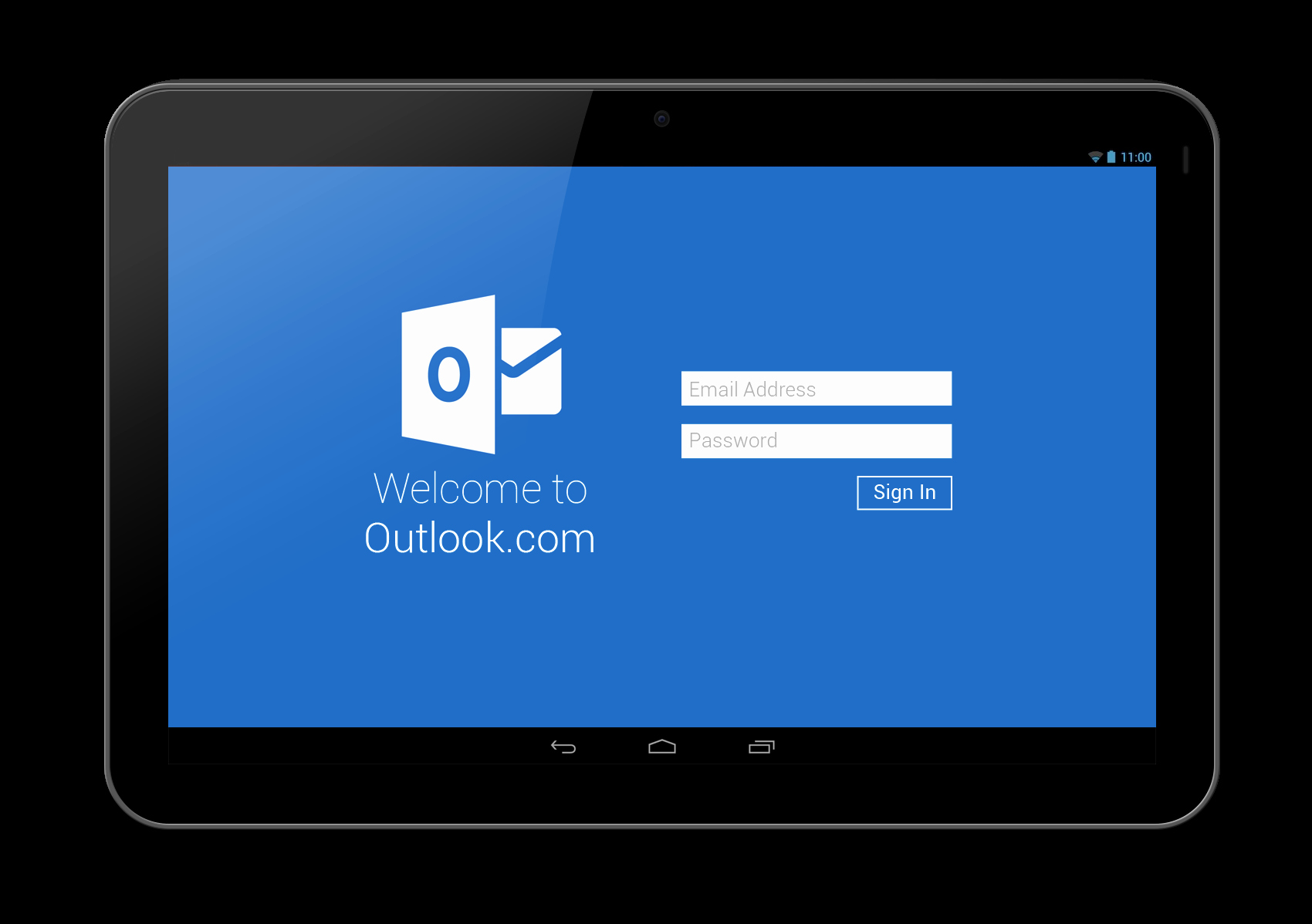 Outlook Com Mail Sign In Inspirational Outlook App Redesign – Tablet Version – androiduiux