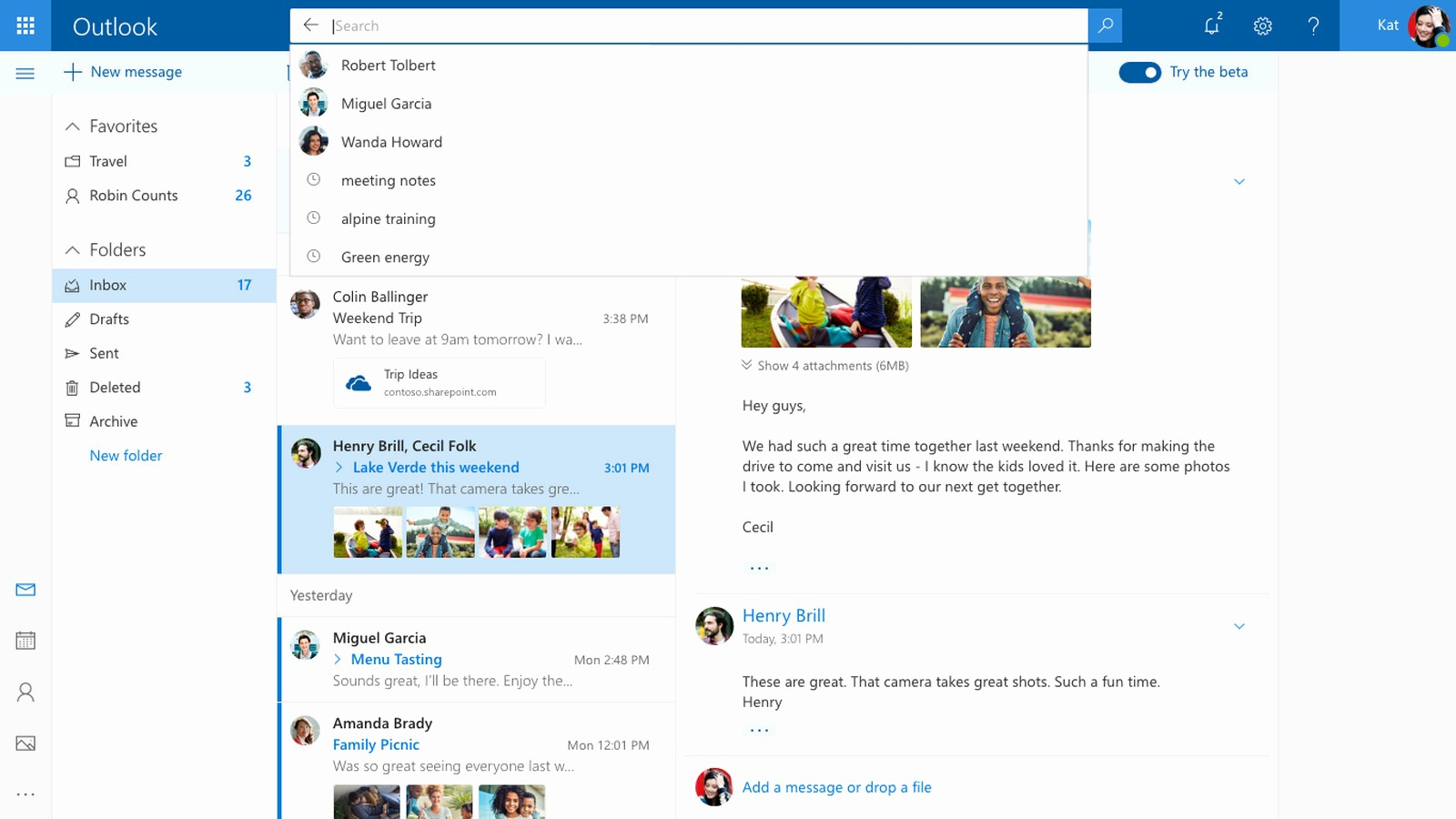Outlook Com Mail Sign In Unique Microsoft's New Outlook Design Includes Better Search