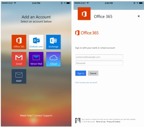 Outlook Office 365 Log In Elegant Outlook for Ios and android Gives Fice 365 Users A More