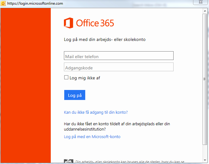 Outlook Office 365 Log In Fresh Avoid Microsoft 365 Login Pop Up when Entering Outlook