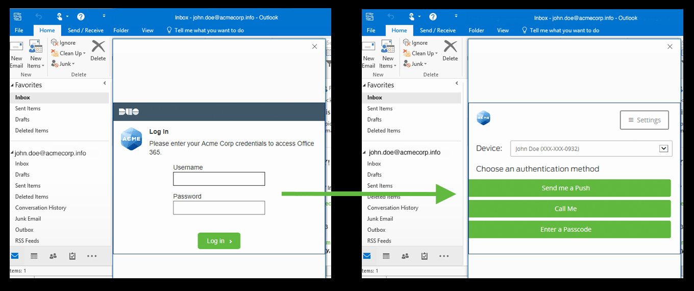 Outlook Office 365 Log In Inspirational Duo Protection for Fice 365