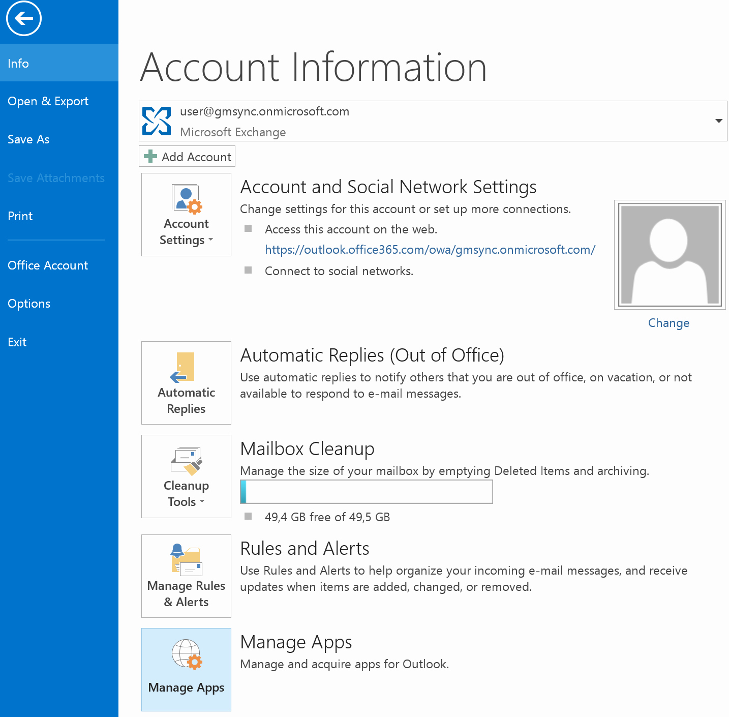 Outlook Office 365 Log In New Single User Installation