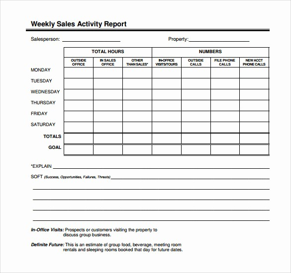 Outside Sales Call Log Template Beautiful 14 Sales Call Report Samples