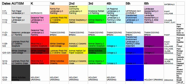 Pacing Calendar Template for Teachers Inspirational organization Lesson Planbook