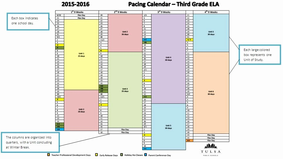 Pacing Calendar Template for Teachers Luxury Teacher Calendar Template