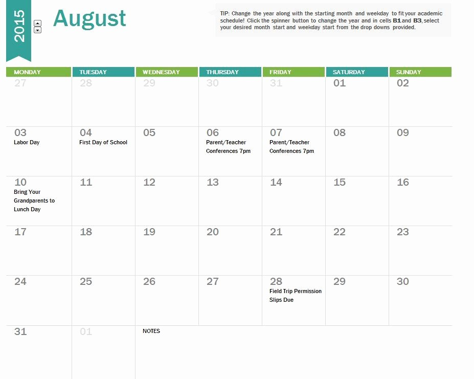 Pacing Calendar Template for Teachers Unique Free Calendar Templates for Teachers
