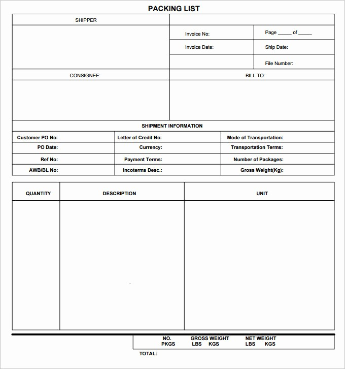 Packing List for Vacation Template Luxury Vacation Packing List Template 5 Free Excel Pdf