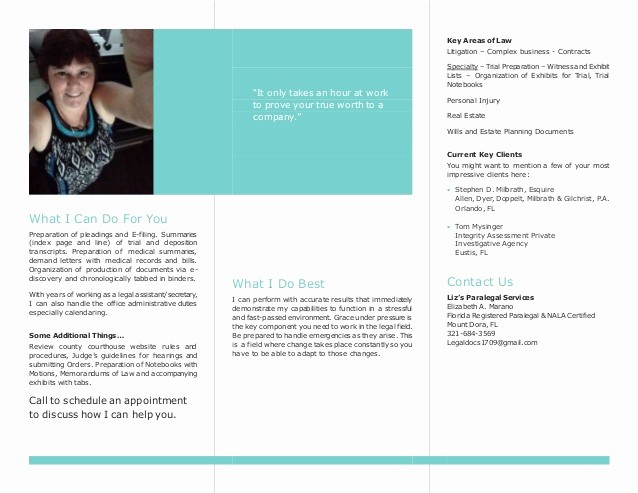 Page Line Deposition Summary Sample Lovely Business Flyer Liz S Paralegal Services