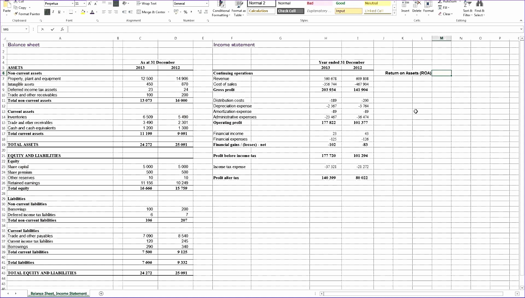 P&l Sheet Example Best Of 5 Excel Templates for Financial Statements