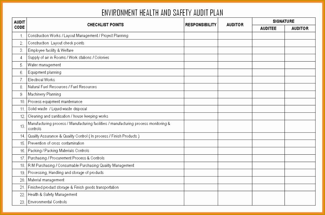 P&l Sheet Example Unique 9 Facility Maintenance Plan Template