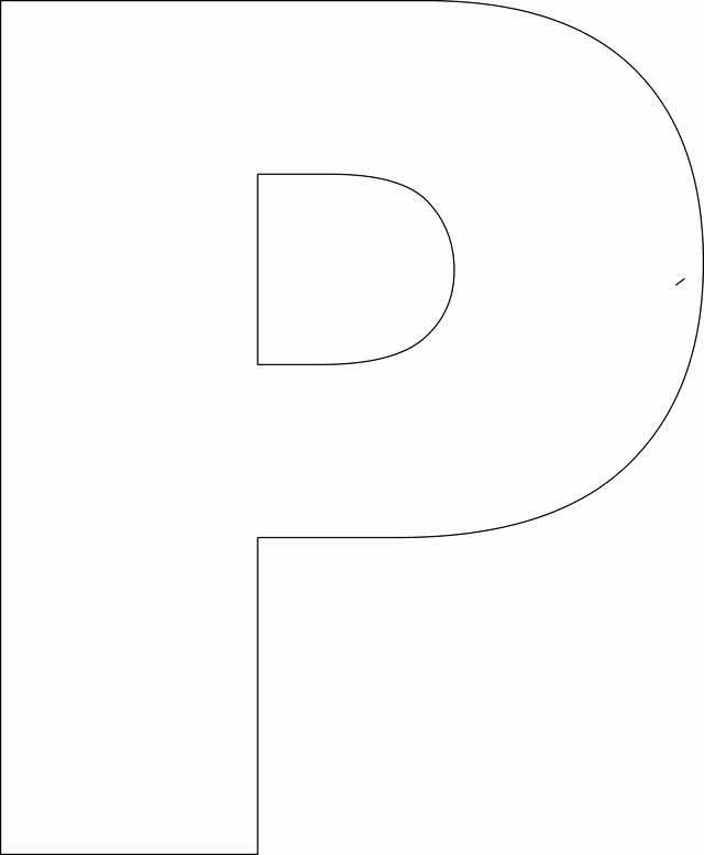 P&l Template Free Fresh 9 Best Of Full Size Printable Letters Size