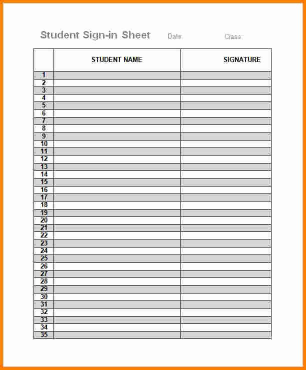 Parent Meeting Sign In Sheet Luxury Parents Sign In Sheet Madohkotupakka