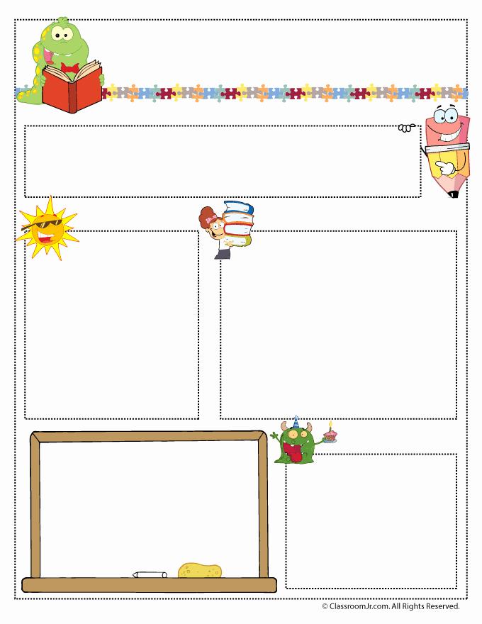Parent Newsletter Template for Teachers Beautiful Teacher Newsletter Templates Woo Jr Kids Activities
