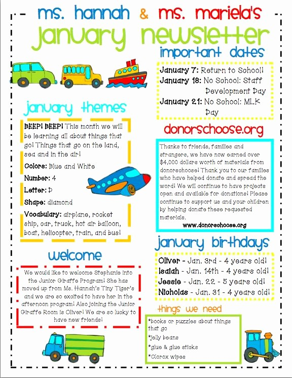 Parent Newsletter Template for Teachers Elegant Ideas for Municating with Parents