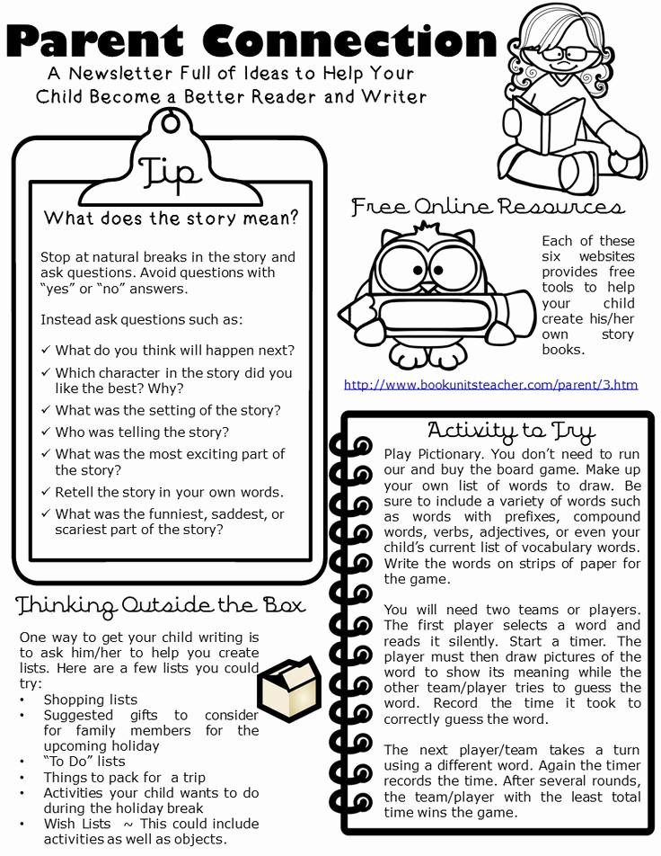Parent Newsletter Template for Teachers Inspirational 17 Best Ideas About Parent Newsletter On Pinterest