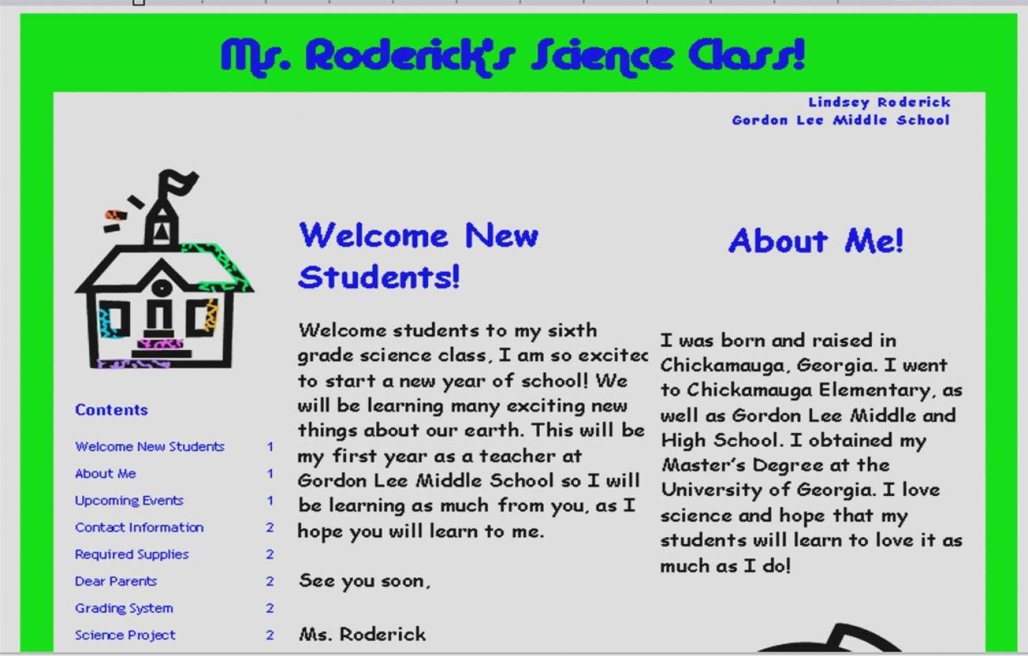Parent Newsletter Template for Teachers Inspirational Elegant Parent Newsletter Template for Teachers