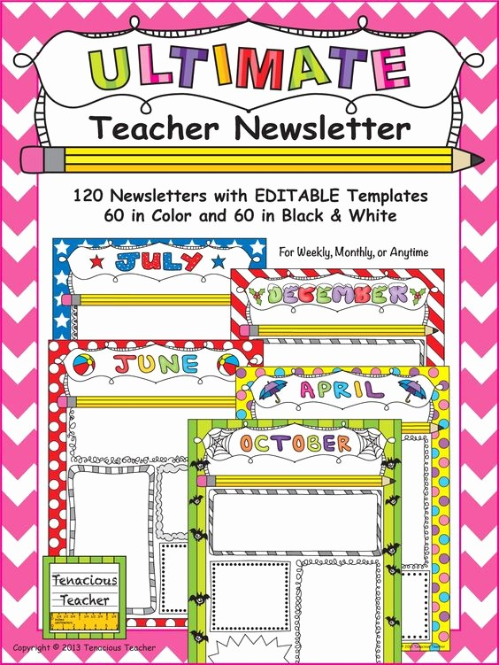 Parent Newsletter Template for Teachers Unique Teacher Newsletter the Font and In Color On Pinterest