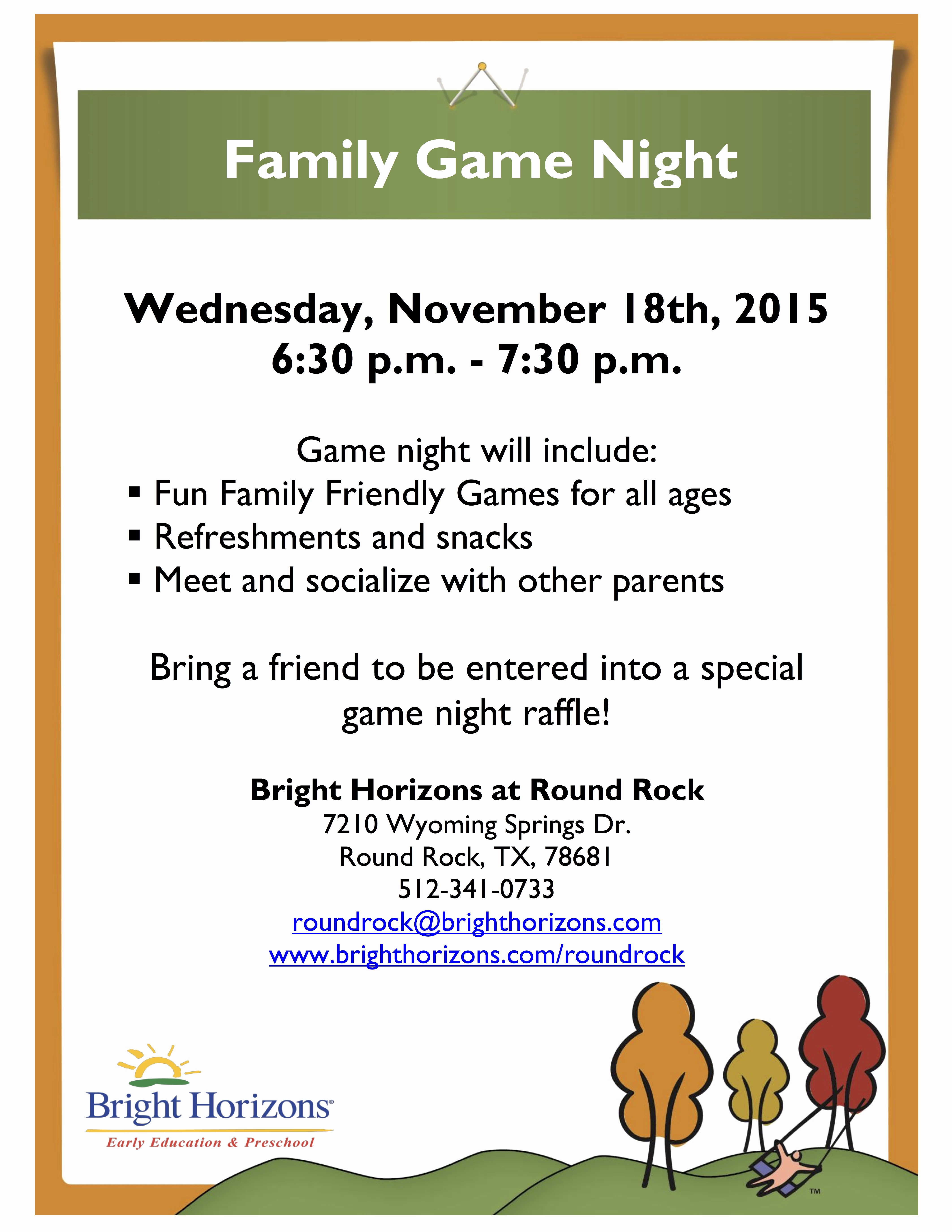 Parent Night Out Flyer Template Best Of Family Fun Night Flyer Template to Pin On