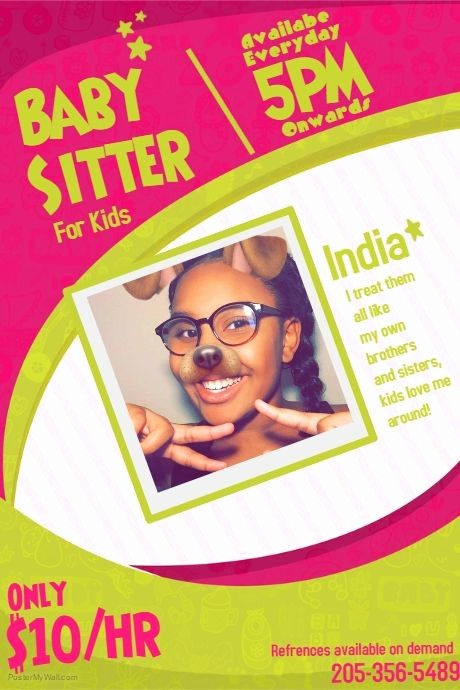 Parent Night Out Flyer Template Fresh 17 Best Ideas About Babysitting Flyers On Pinterest