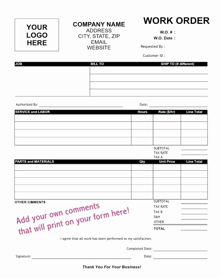Parts order form Template Excel Beautiful Part order form Template Parts Excel Request List