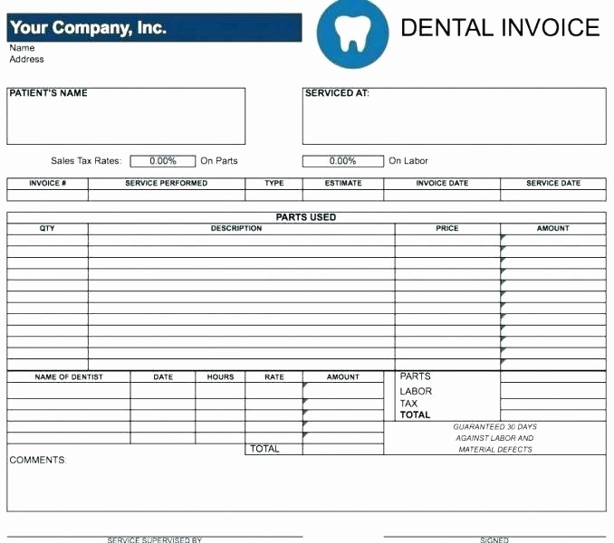 Parts order form Template Excel Best Of Parts order Template Appliance Repair Invoice Template