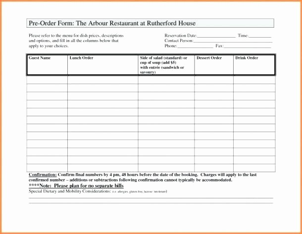 Parts order form Template Excel Inspirational Requisition form Fice Supplies order Template Supply