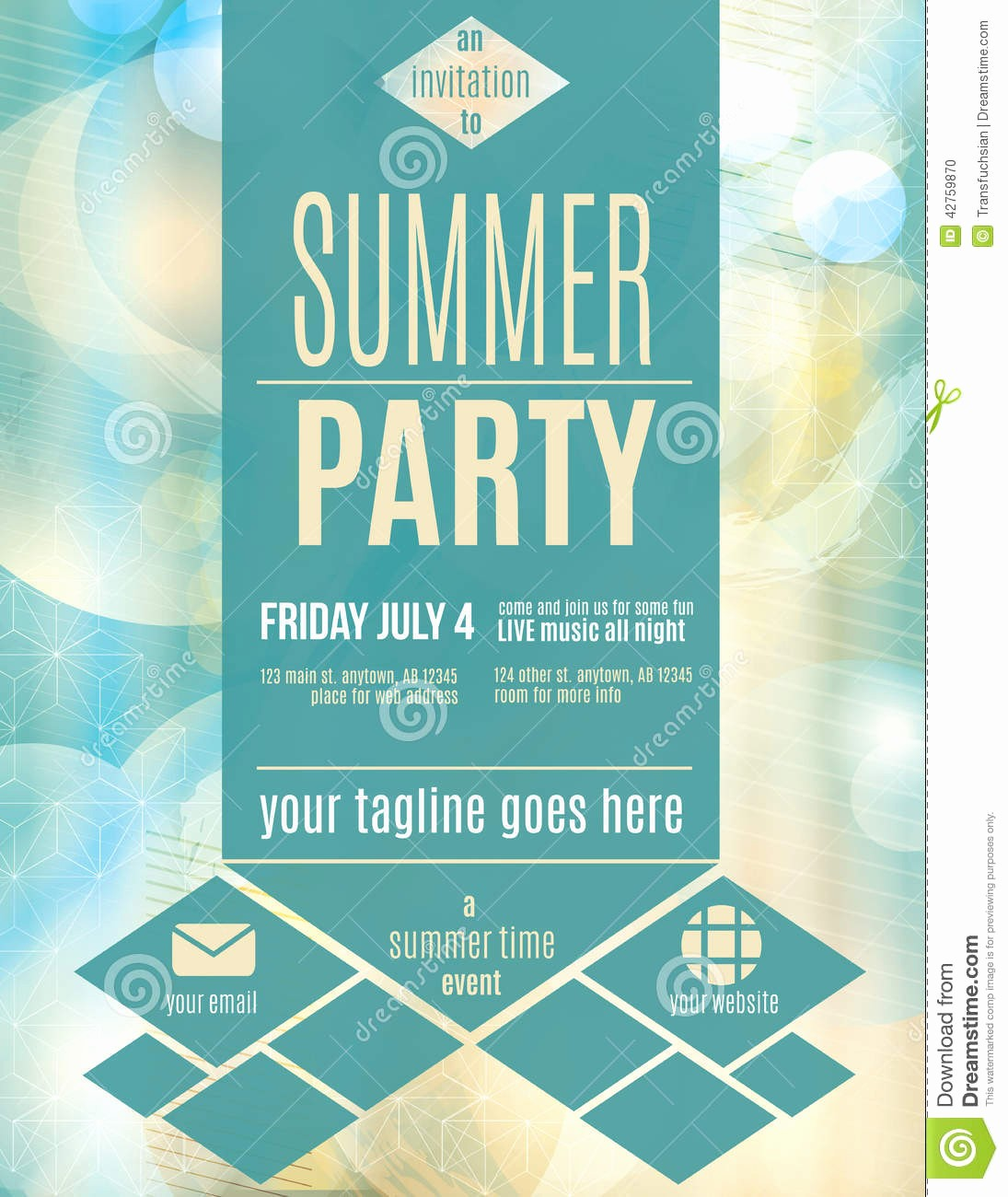 Party Flyer Templates Free Downloads Best Of Modern Style Summer Party Flyer Template Download From Ov