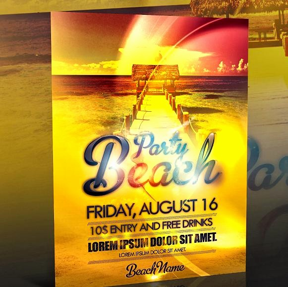 Party Flyer Templates Free Downloads Elegant 9 Best Of event Flyer Templates Free Download