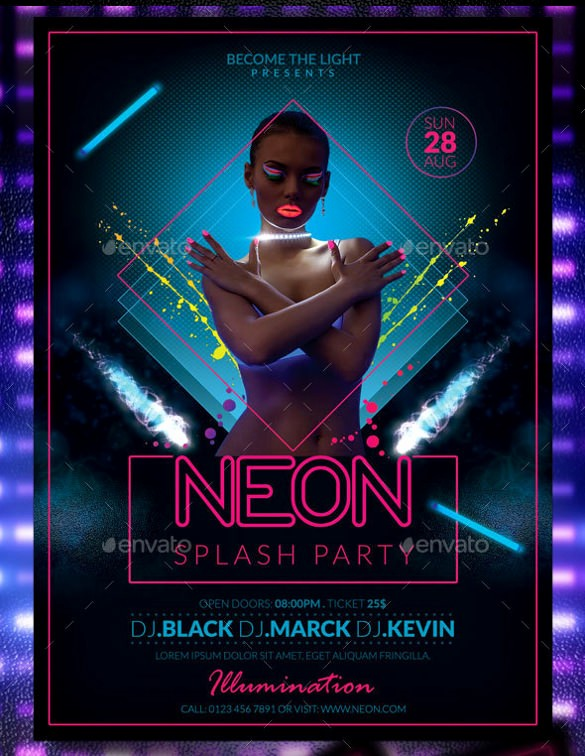 Party Flyer Templates Free Downloads Lovely 31 Party Flyer Templates Free Psd Eps format Download