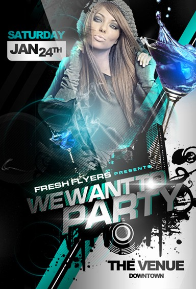 Party Flyer Templates Free Downloads Luxury 18 Free Flyer Psd Downloads Free Club Flyer