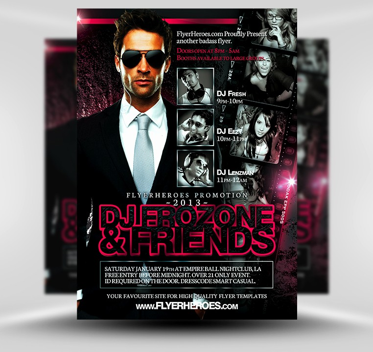 Party Flyer Templates Free Downloads Luxury 32 Spectacular Free Dj Flyer Templates Psd Doc Demplates