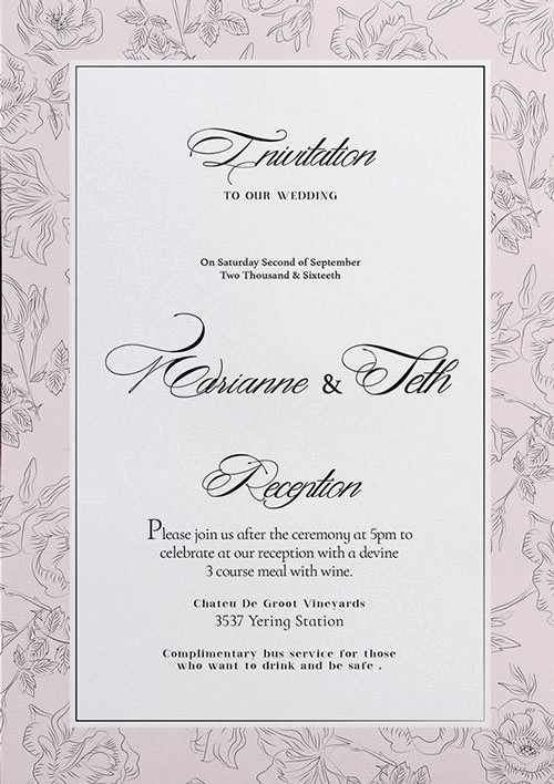 Party Flyer Templates Free Downloads New Free Wedding Invitation Flyer Template Download for