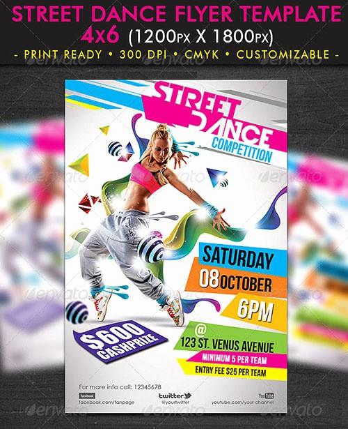 Party Flyer Templates Free Downloads Unique 20 Dance Flyer Free Psd Free Psd Flyer Templates