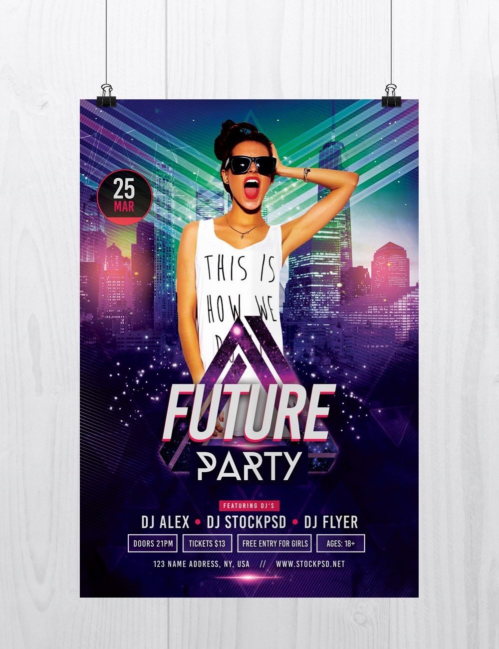 Party Flyer Templates Free Downloads Unique Stockpsd – Free Psd Flyers Brochures and More