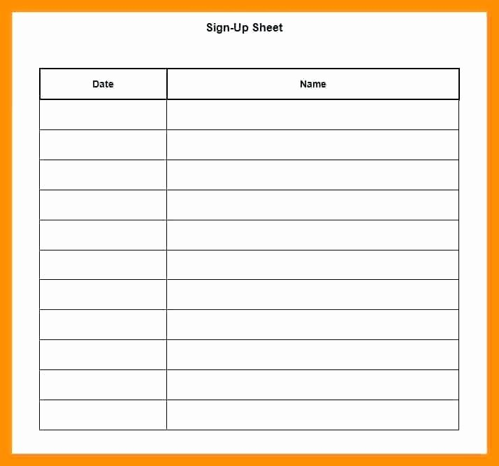 Party Food Sign Up Sheet Awesome Thanksgiving Potluck Sheet Template Awesome Food Sign Up