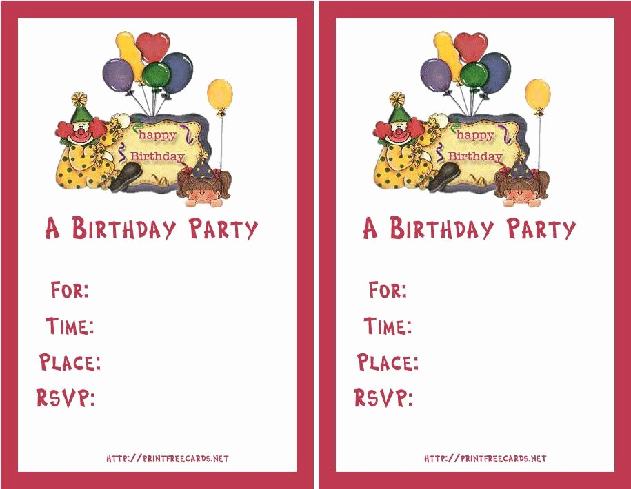 Party Invitation Template Microsoft Word Best Of Birthday Invitation Templates Birthday Invitation