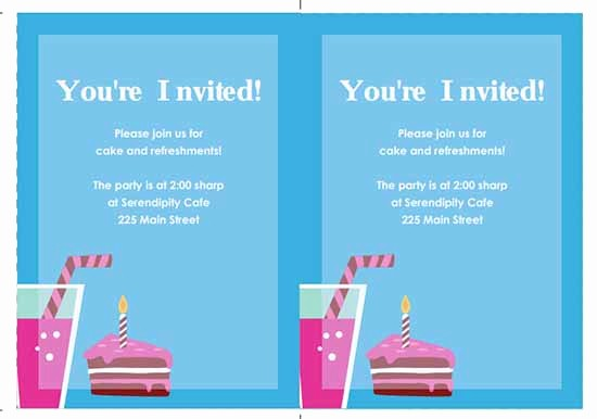 Party Invitation Template Microsoft Word Fresh 6 Free Party Invitation Templates Excel Pdf formats