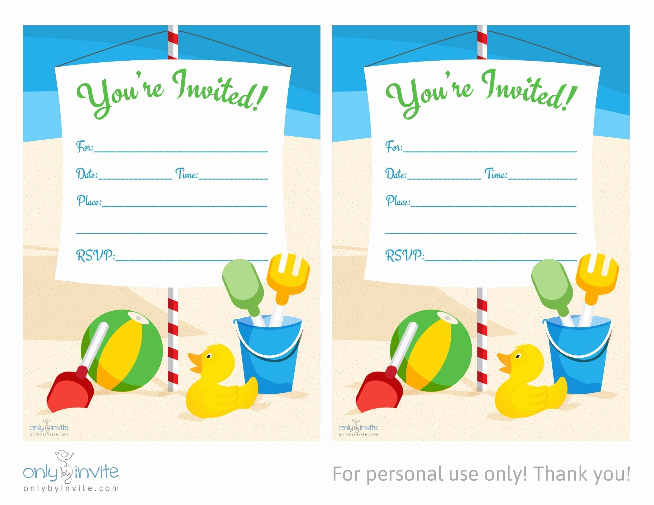 birthday invitation templates microsoft word