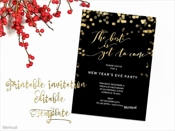 Party Invitation Template Microsoft Word Unique Free Christmas Invitation Templates Word Invitation Template