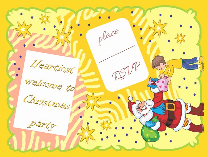 Party Invitation Templates Microsoft Word Fresh Christmas Party Invitation Template Free & Printable