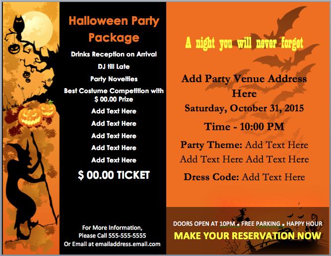 Party Invitation Templates Microsoft Word Fresh Word Halloween Party Template Halloween Party Invitation
