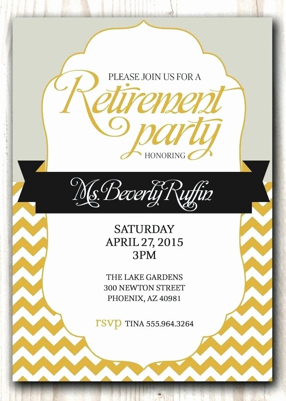Party Invitation Templates Microsoft Word Lovely Best Retirement Party Free Microsoft Word
