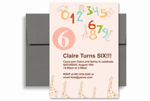 Party Invitations Templates Microsoft Word Beautiful Cute Pink Girl Microsoft Word Birthday Invitation 5x7 In