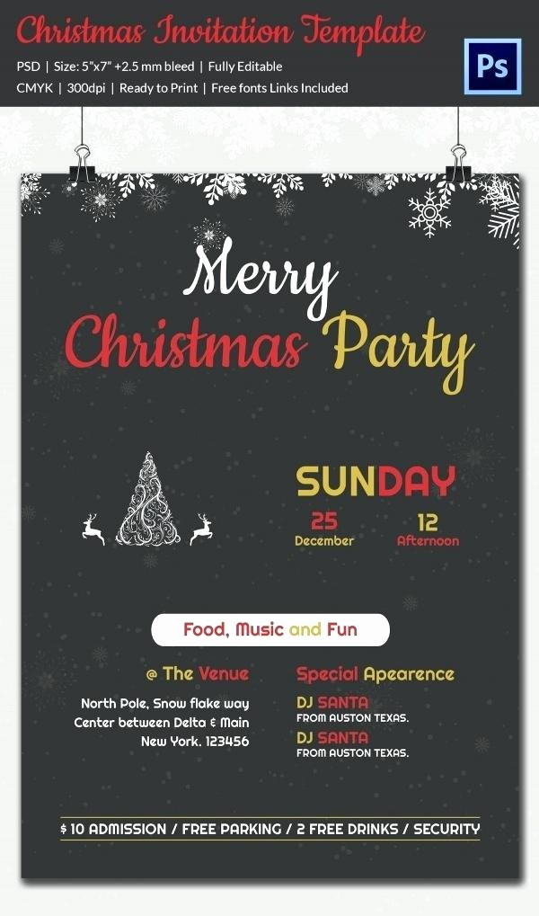 Party Invitations Templates Microsoft Word Beautiful Editable Party Invitation Template Download Christmas