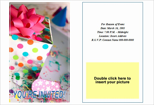 Party Invitations Templates Microsoft Word Lovely 50 Microsoft Invitation Templates Free Samples