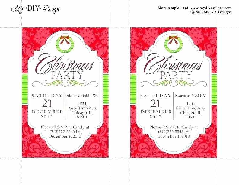 Party Invitations Templates Microsoft Word New Christmas Newsletter Template Microsoft Word Greeting Card