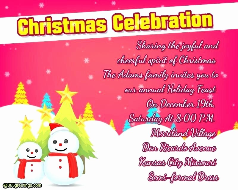 Party Invitations Templates Microsoft Word New Christmas Party Invites Template – Skincense