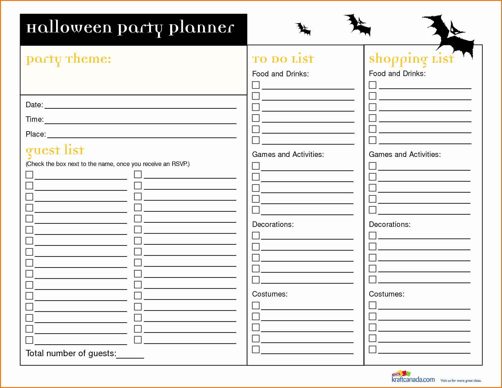 Party to Do List Template Awesome Printable Guest List Template Portablegasgrillweber